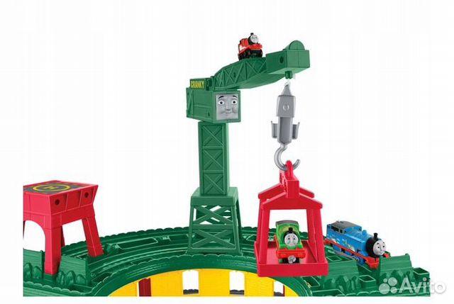 Железнодорожная станция fisher-price tomek FGR22 89062132153 купить 3