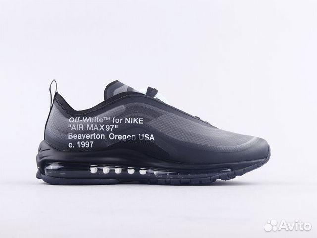 Nike Air Max 97 OG Black x Off White купить в Москве на
