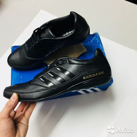 online retailer 4f672 7a831 Adidas Porsche S3 чёрные
