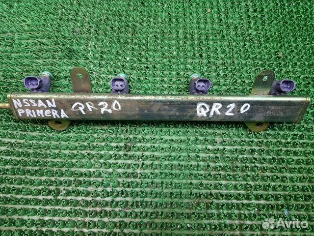 Топливная рампа с форсунками Nissan Primera P12 89046875188 купить 2