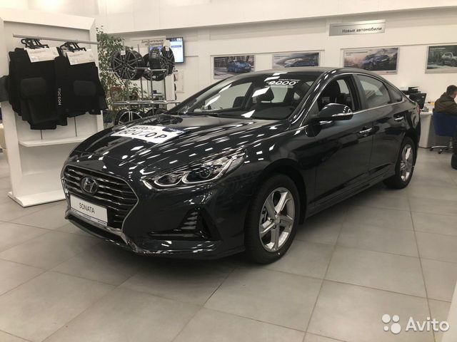 Hyundai Sonata 2.4 AT, 2018, седан
