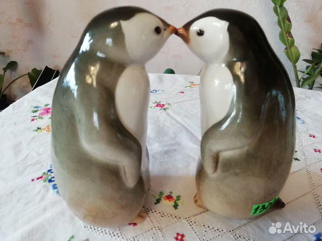 Фарфоровая статуэтка Пингвин лфз 89630945755 купить 1