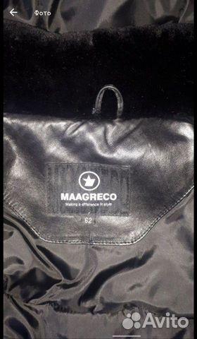 Кожаная куртка с натуральной черно 89513830222 купить 5