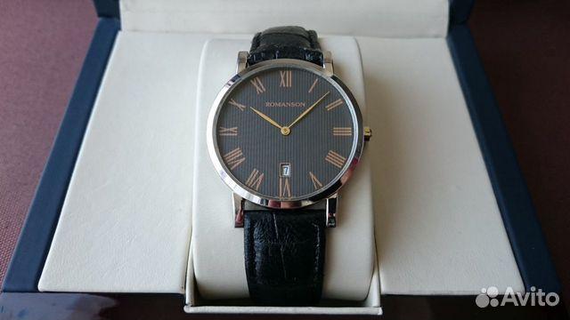 Мужские классические наручные часы Romanson 89525003388 купить 2