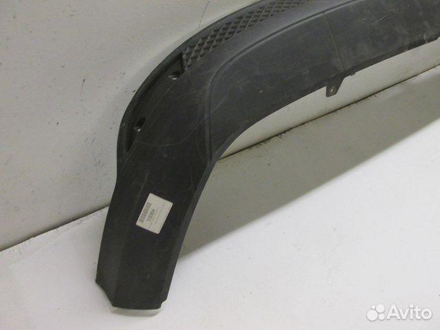 Юбка заднего бампера ford