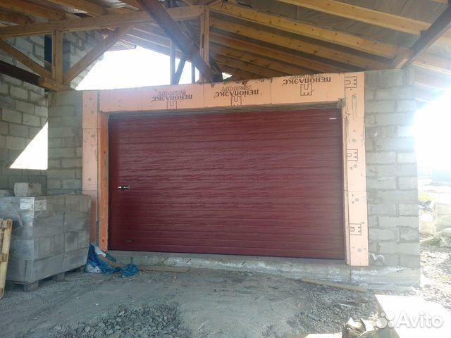 Ворота секционные на гараж 89087774297 купить 3
