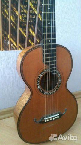 Гитара старинная мастеровая(раритет 1880 года) 89538598168 купить 3