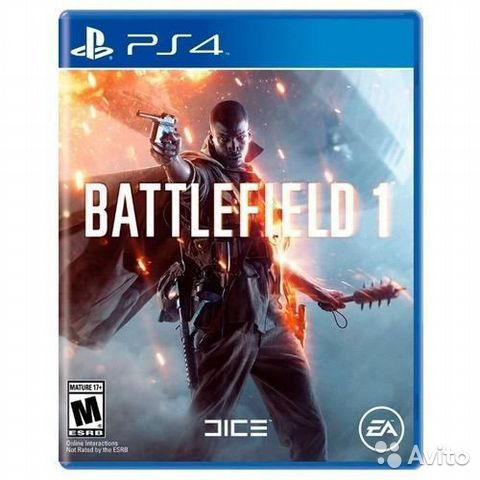 Battlefield 1, PS4/Калина Молл  89240081966 купить 1