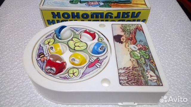 Игра Любопытный лягушонок СССР