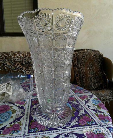 Хрустальная ваза Снежинка 89126851748 купить 1