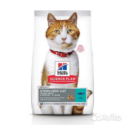 Hills паучи/сухой для стерилизованных кошек 89276714008 купить 2
