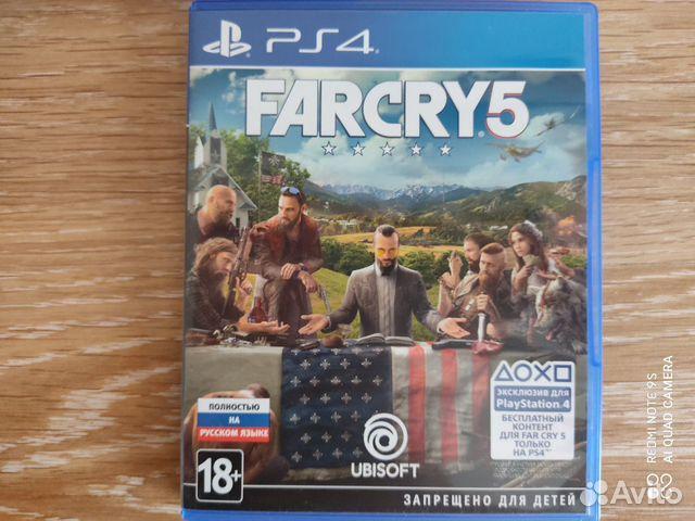 Фар край 5 Far Cry 5 ps4 playstation 4  купить 1