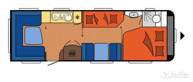 Семейный Дом на колесах Hobby Prestige 720 UKFe 89183304949 купить 4