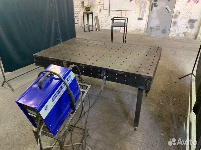 Стол сварочный 3D 1500*1000 мм  89005359120 купить 6