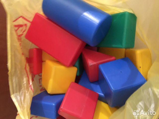 Кубики пластмассовые 89021663648 купить 1