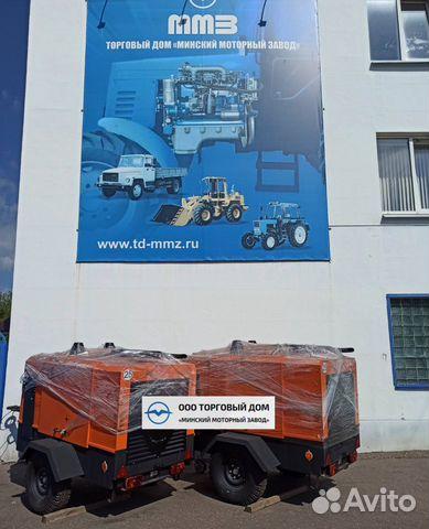 Kompressor skruv med diesel MMZ-пв6/0,7Р2 89652020201 köp 6
