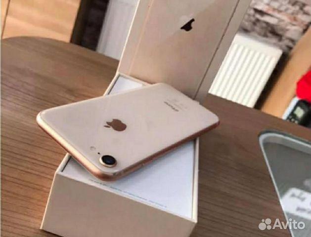 iPhone 8 64гб золото оригинал новый  89107310080 купить 4