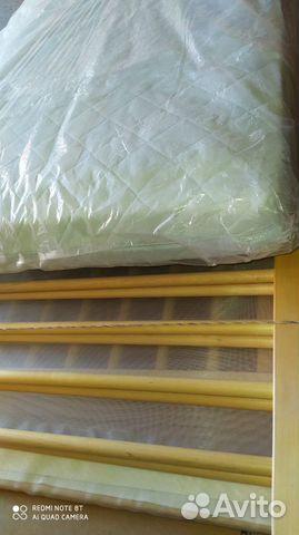 Детская кроватка и матрас  купить 1