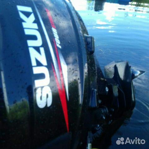 Продам лодочный мотор suzuki 20, 4х тактный