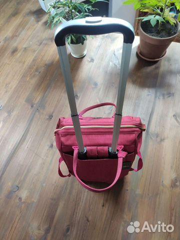 Новая сумка-рюкзак дорожная на колесиках barrley p  89208787198 купить 7