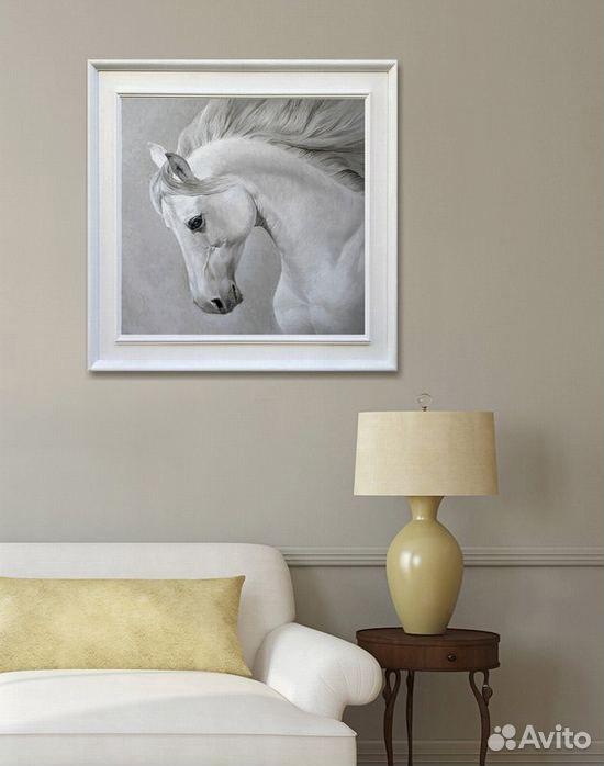 Картина с лошадью маслом на холсте 89139358050 купить 4