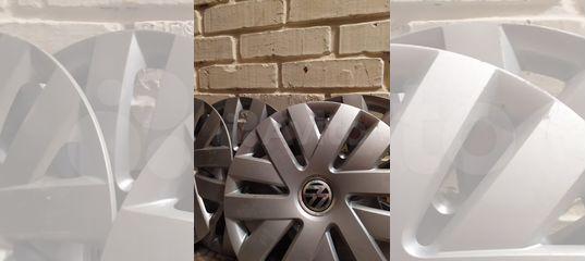Оригинальные колпаки VW polo r 15
