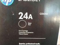 Оригинальный лазерный картридж HP 24 А LaserJet