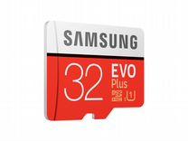 Карта памяти SAMSUNG 32GB Clas10 Evo Plus