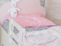 Защитный бортик в детскую кровать