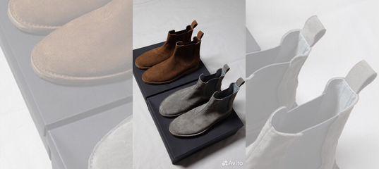 b2d9a2f1d30e Bottega veneta челси кожаные (Chelsea) Ботинки купить в Москве на Avito — Объявления  на сайте Авито