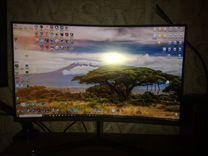 Игровой монитор SAMSUNG C27JG50QQI — Бытовая электроника в Первоуральске