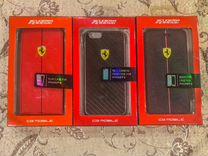 Лицензионый чехол Ferrari для iPhone 6/6S