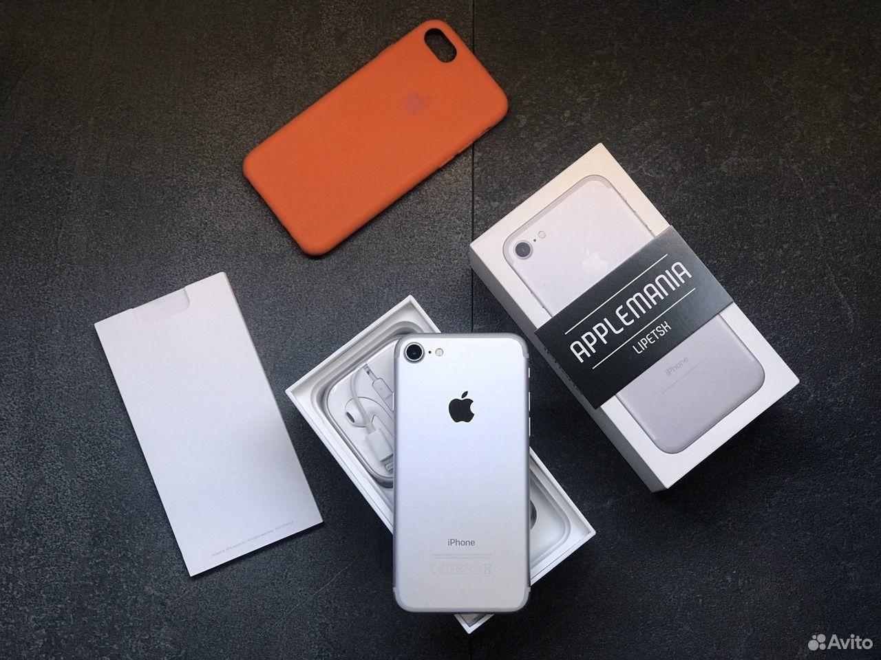 iPhone 7 32gb silver гарантия  89046868534 купить 4