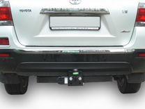 Фаркоп для Toyota Highlander 2010-2013