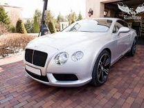 Bentley continental gt пневмоподушки комплект
