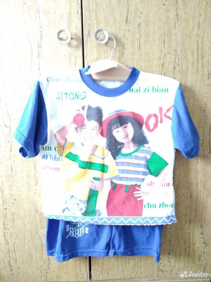 Новый детский костюм футболка и шорты на мальчика