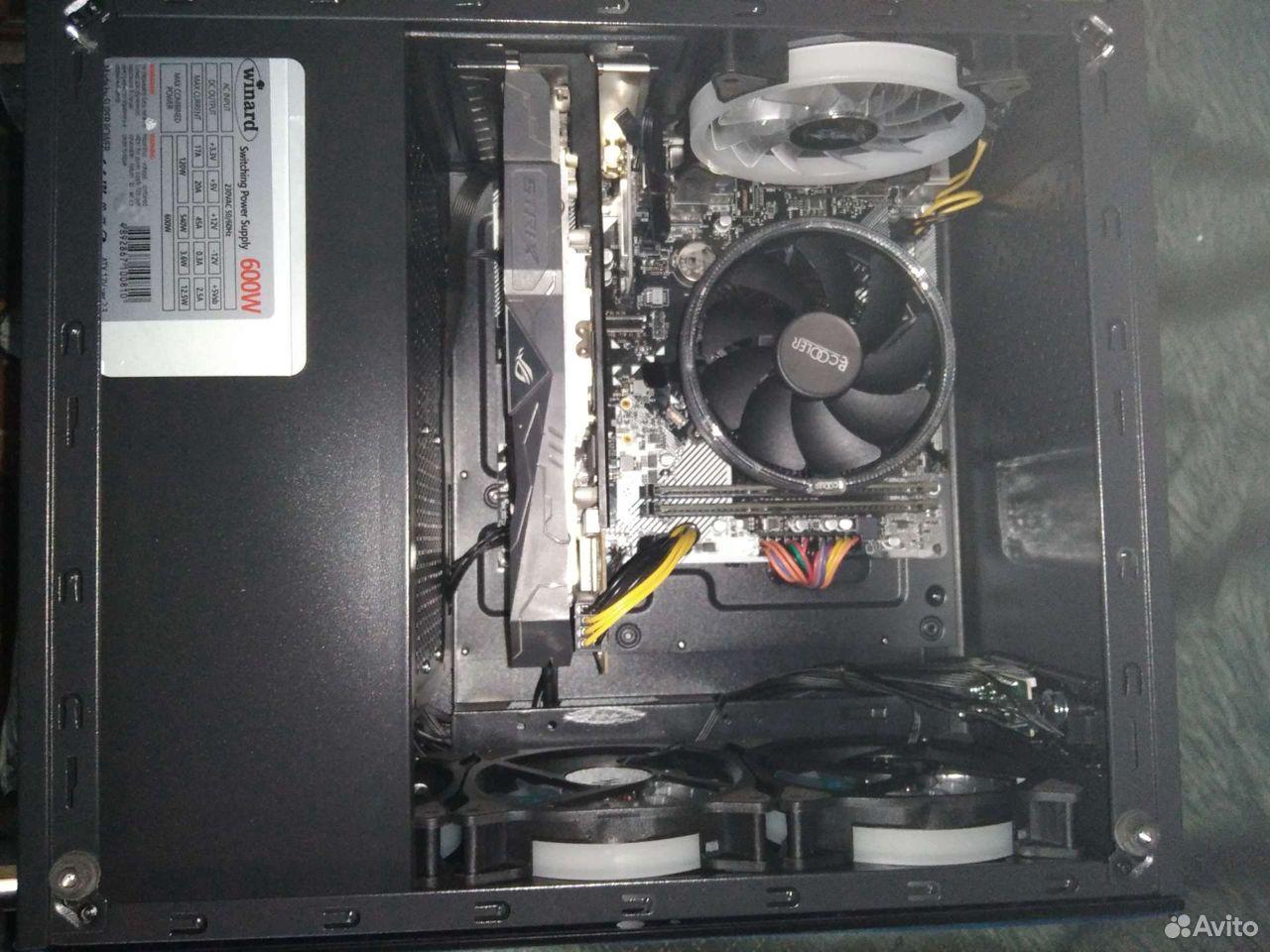 Системный блок Ryzen 5 1600/ 16 Гб/ SSD/ RX 570  89042695687 купить 6