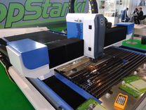 Оптоволоконный лазерный станок с чпу 1500х3000 мм