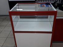 Холодильную витрину Cryspi, весы Cas, вывеска