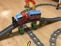 Железная дорога lego duplo