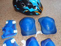 Продам роликовые коньки+шлем и защита