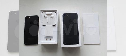 Apple iPhone 7 32Gb Black (Новый) купить в Нижегородской области с доставкой | Бытовая электроника | Авито