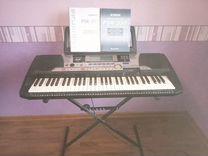 Yamaha PSR-550 + Стойка для синтезатора Acropolis