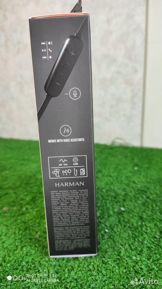 Bluetooth стереогарнитура JBL T165BT черный