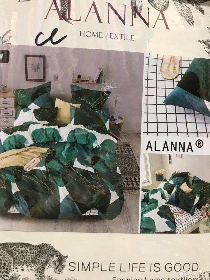 Семейный комплект постельного белья, Сатин  89630122262 купить 3