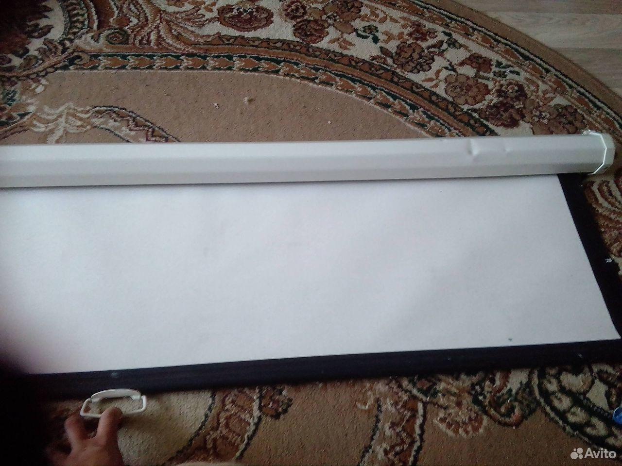 Экран настенный для проектора 150х150 см