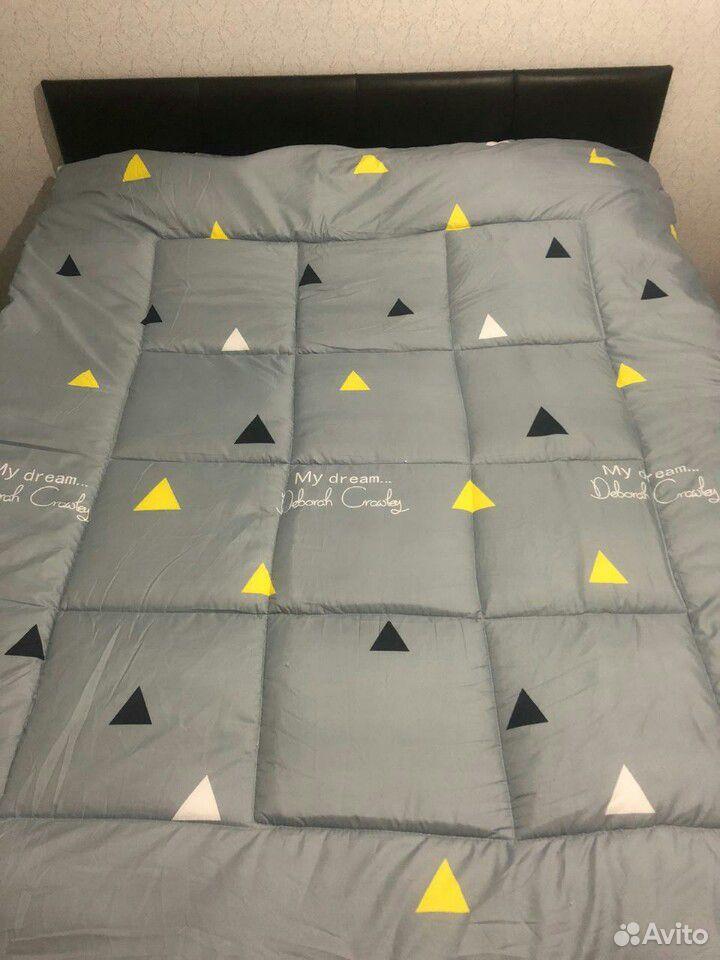 Одеяло двустороннее (экофайбер).220/180см