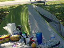 Палатка 2 местная, двойная