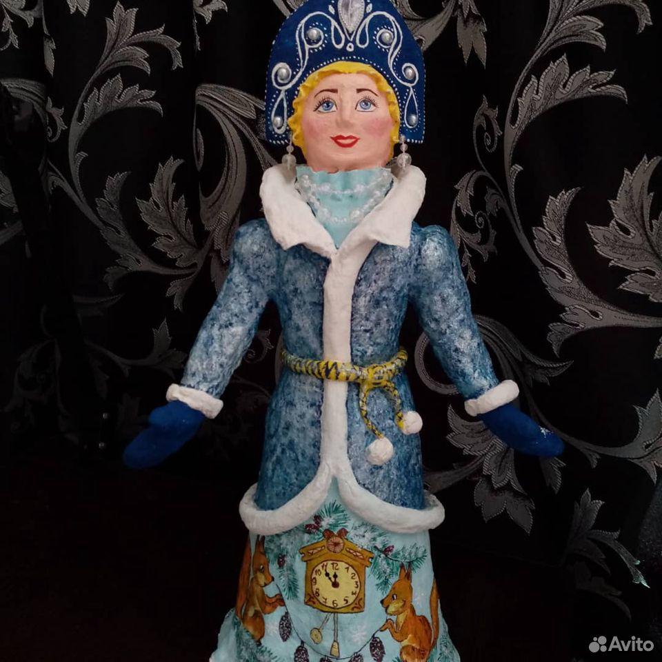 Снегурочка из ваты ручной работы  89601521574 купить 1