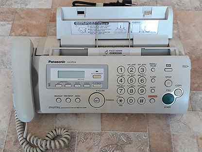 Телефон/факс Panasonic KX-FP218RU